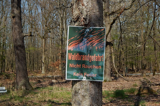 Verhaltensregeln im Frankfurter Stadtwald