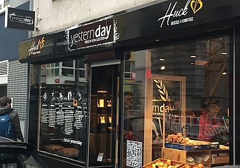 New opening in Bockenheim: At Yestern.day by Huck there's fresh from yesterday
