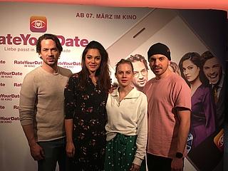 Darsteller der Komödie RATE YOUR DATE zu Gast bei Frankfurt-Tipp.de