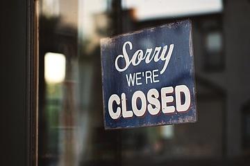 #leerelokale: Zahlreiche Gastronomiebetriebe bleiben zum Restart am Freitag geschlossen