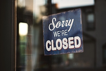 #empty restaurants: Many restaurants will be closed for the restart on Friday