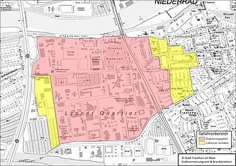 Bombenfund in Niederrad – Entschärfung am Wochenende