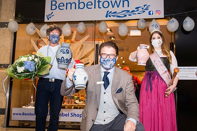 Bembeltown eröffnet Pop-Up Store im Hessen-Center Frankfurt