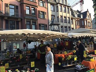 Bornheim weekly market moves to the fairground