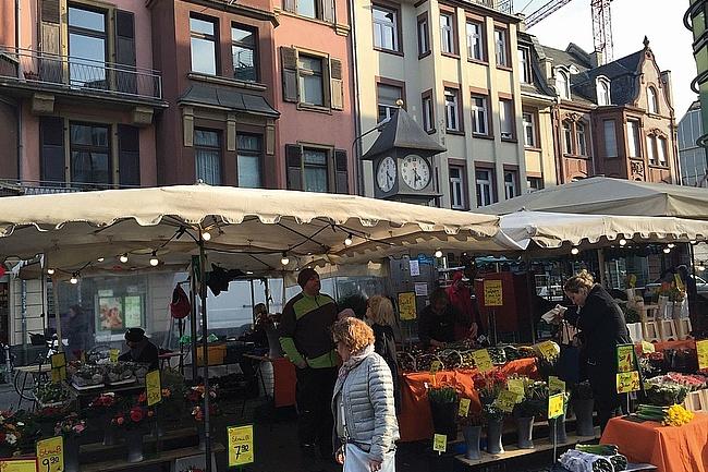 Bornheimer Wochenmarkt zieht auf den Festplatz