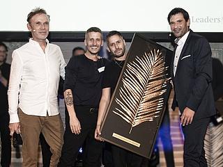 Goldene Palme beim Leaders Club Award für Bar Shuka aus Frankfurt