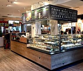 Die Frankfurter Markthalle im Hauptbahnhof ist wieder geöffnet
