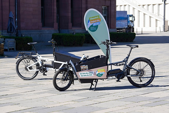 The State of Hesse supports the purchase of cargo bikes