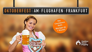 Oktoberfest am Frankfurt Airport