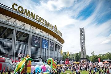 Das Festival4Family lädt 2019 wieder in die Commerzbank Arena