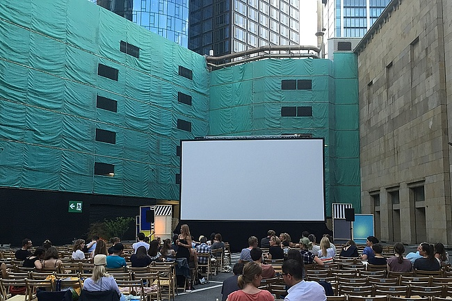 Open-air cinema Frankfurt goes into its seventh season