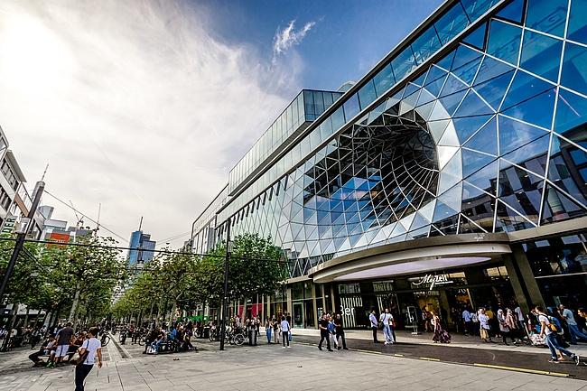 Frankfurts Einkaufsstraßen
