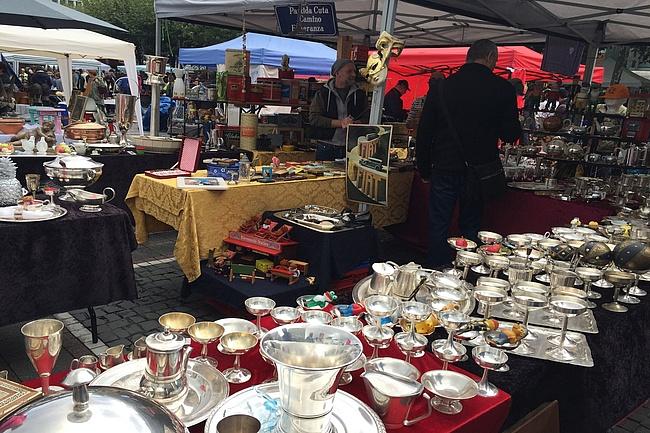 Flohmarkt wechselt ans nördliche Mainufer