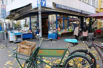 Frankfurt has excellent bookshops