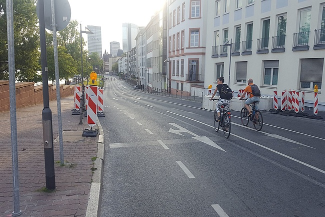 Is Frankfurt finally bicycle-friendly?