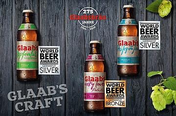 Glaabsbräu beim World Beer Award 2019 ausgezeichnet