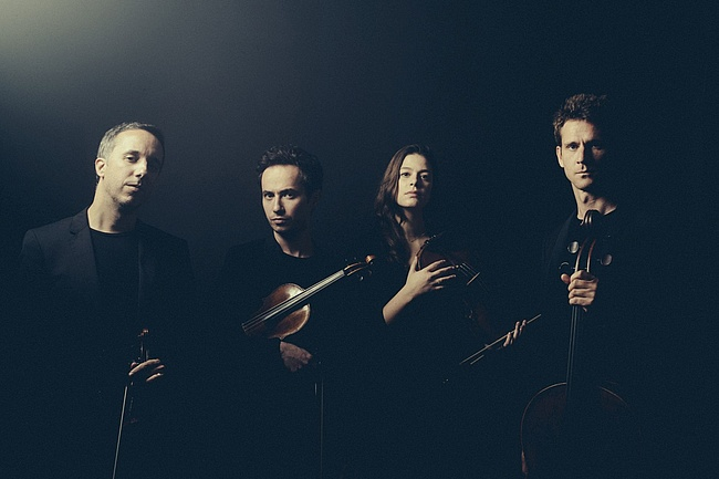 Verleihung des Frankfurter Musikpreises an Quatuor Ébène