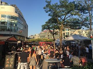 Das Street Food Festival verwandelt die Zeil in ein kulinarisches Paradies