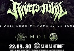 Rivers of Nihil / Black Crown Initiate / MØL / Orbit Culture