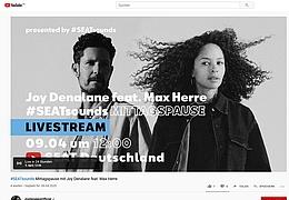 #SEATsounds Mittagspause mit Joy Denalane feat. Max Herre