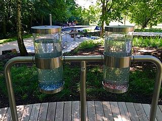Mainova-Wasserlehrpfad im Wasserpark lädt auch in diesem Sommer zum Verweilen ein