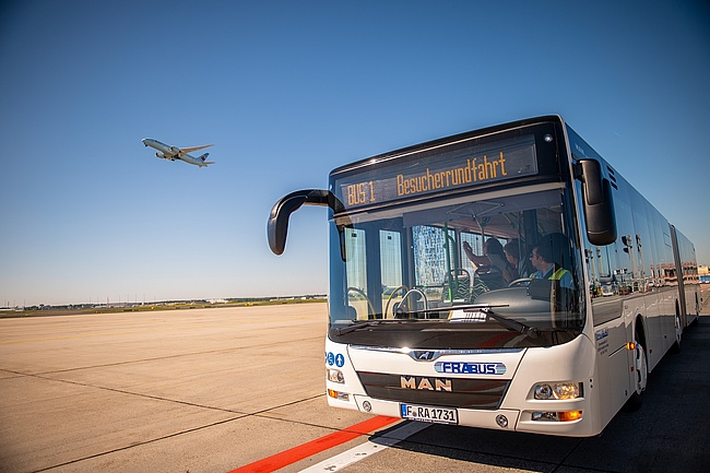 Frankfurt Airport tours - comeback of the popular excursion destination