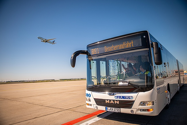 Frankfurt Airport Rundfahrten - Comeback of the popular excursion destination