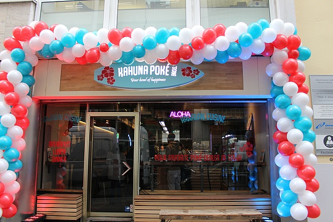 Kahuna Poké Bros Downtown - A piece of Hawaii in Frankfurt City