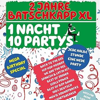 2 Jahre Batschkapp XL - 1 Nacht, 10 Partys
