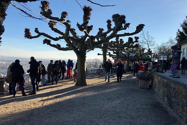 Bergweihnacht auf dem Johannisberg