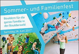 Sommer- und Familienfest der Boulderwelt Frankfurt