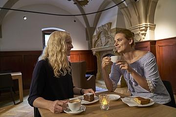 Das Café im Liebieghaus erstrahlt in neuem Glanz