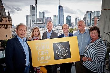 Das 1. Global Cider Forum in Frankfurt war ein voller Erfolg