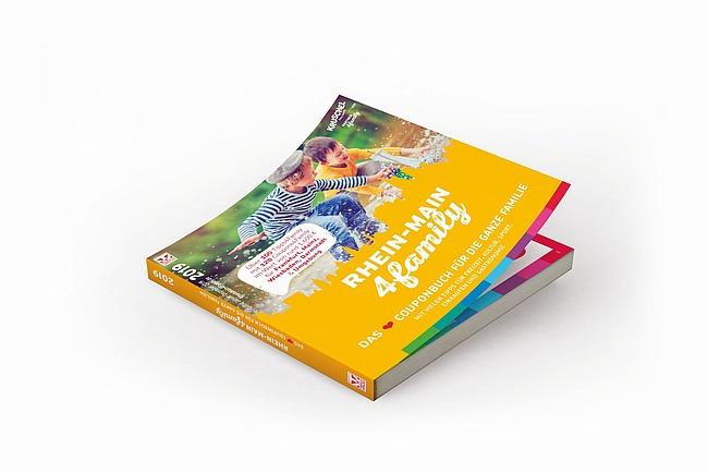 Das neue RheinMain4Family Couponbuch für Familien ist da!