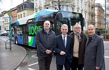 Frankfurt ökologisch: Erste Elektrobusse für Frankfurt sind bestellt