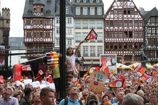 Frankfurt feiert die Eintracht