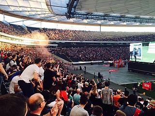 Public Viewing zum DFB Pokal Finale Entracht Frankfurt - FC Bayern München