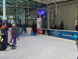 Deutschlands höchste Eisbahn MyZeil on Ice wird verlängert