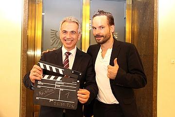 Preview der TV-Serie 'Ein Fall für zwei' im Frankfurter Römer