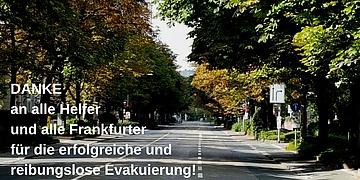 Fliegerbombe: Dankesveranstaltung für alle in der Paulskirche