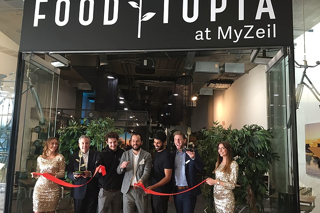 Eröffnung der FOODTOPIA Lounge im MyZeil