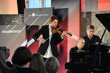 Frankfurter Musikpreis 2017 an David Garrett verliehen