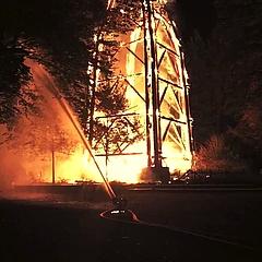 Traurige Nachricht: Der Goetheturm ist abgebrannt