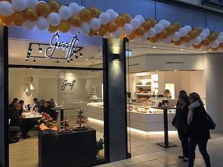 Die Confiserie Graff aus Frankfurt-Rödelheim eröffnet Filiale im Main-Taunus-Zentrum