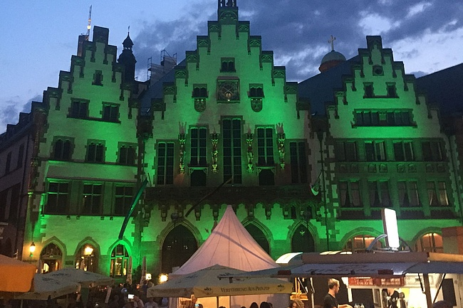 Weltrekord und Frankfurt-Tonne - Doppelspaß beim Grüne Soße Tag 2019
