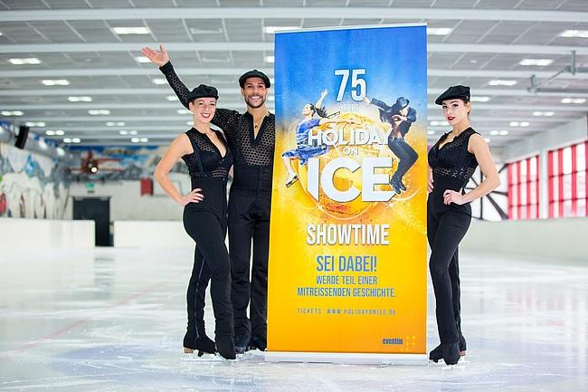 Frankfurt feiert mit SHOWTIME 75 Jahre HOLIDAY ON ICE