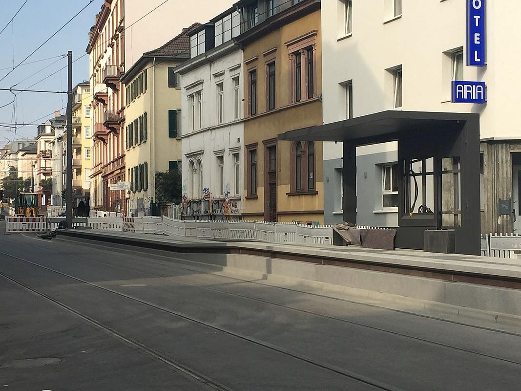 Baustelle Eckenheimer Landstraße Linie U5 Fährt Ab 10 Oktober