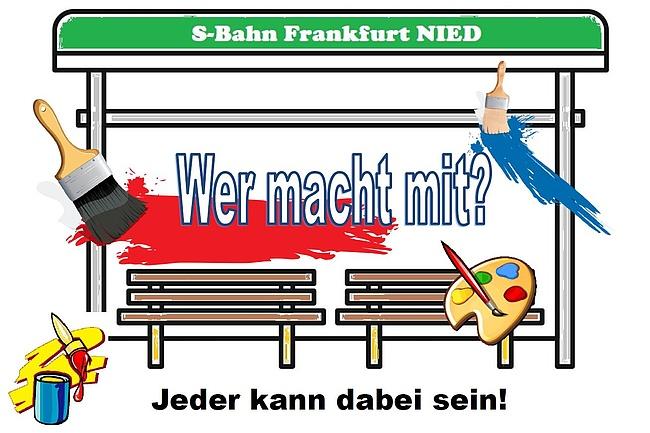 Kunst am S-Bahnhof Nied – Jeder kann mitmachen!
