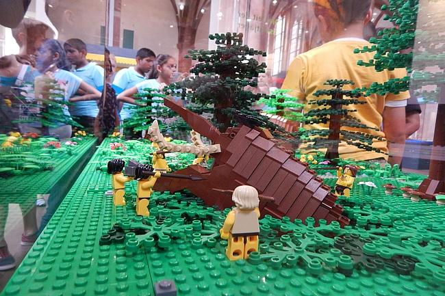 In den Winterferien mit LEGO auf Zeitreise gehen