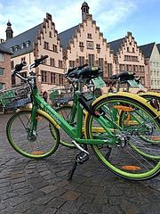 Fragen und Antworten zu Leihfahrrädern in Frankfurt